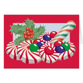HOLIDAY CANDY Card