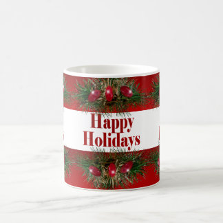 Holiday Candy Stripes Coffee Mug