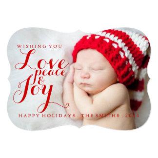 Holiday Card | Baby Love Peace Joy