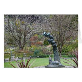 Holiday card, Dunedin Botanic Gardens Card