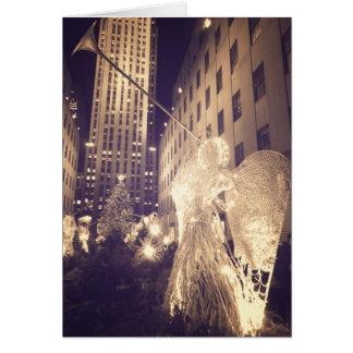 Holiday Card - Rockefeller Center - NYC