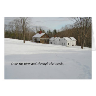 Holiday Card - Winter in the Country