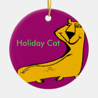 Holiday Cat Ornaments