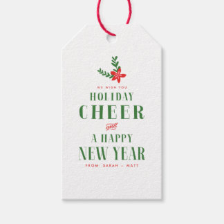 Holiday Cheer Christmas Gift Tags