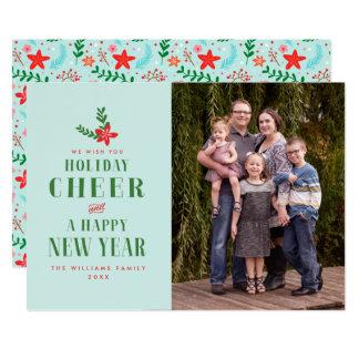 Holiday Cheer Christmas Photo Cards