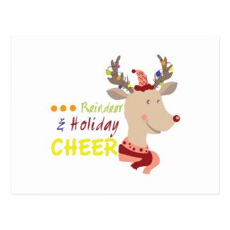 Holiday Cheer Postcard