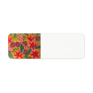 Holiday Cheer Return Address Label