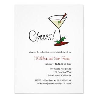 Holiday Cheers Invitation
