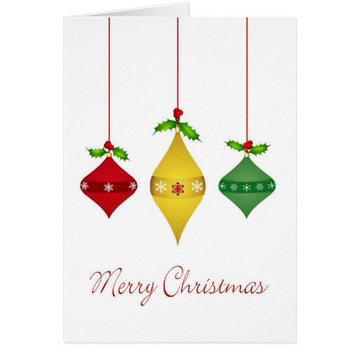Holiday Christmas Card