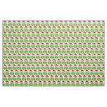 Holiday Christmas Frog Pattern Fabric
