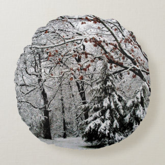 Holiday Christmas Winter Wonderland Accent Pillow