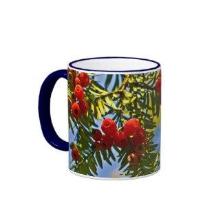 Holiday Conifers Mugs
