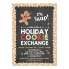 Holiday Cookie Exchange Invitation Christmas