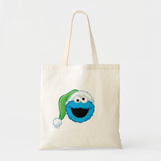 Holiday Cookie Monster Budget Tote Bag