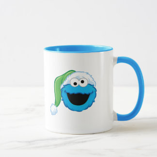 Holiday Cookie Monster Mug