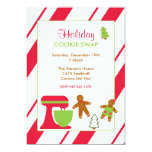 Holiday Cookie Swap Party Invitations
