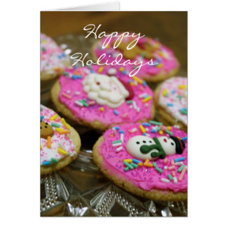 Holiday Cookies Card