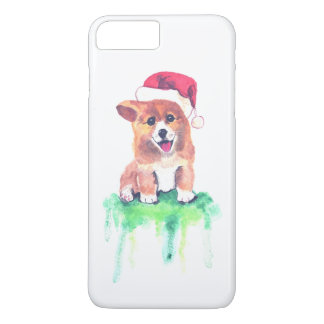 Holiday Corgi - iPhone 8Plus/7 Plus Case