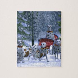 Holiday Dalmatians Jigsaw Puzzle