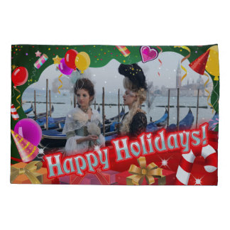 Holiday Decor Customized With Your Own Picture Pillowcase