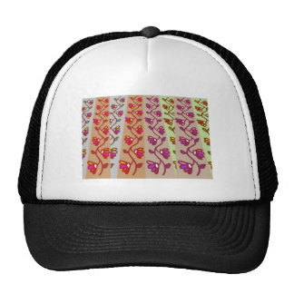 Holiday Decorations : Flower Garlands Trucker Hat