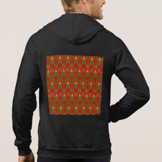Holiday Decorative Squares Hoodie