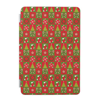 Holiday Decorative Squares iPad Mini Cover