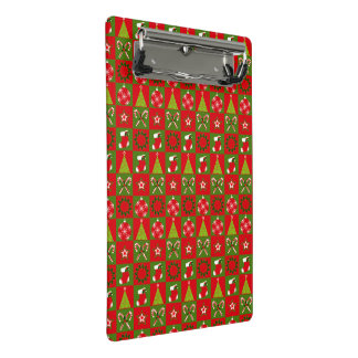 Holiday Decorative Squares Mini Clipboard