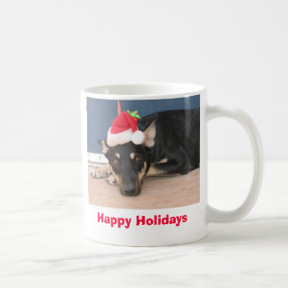 Holiday Dog Coffee Mug