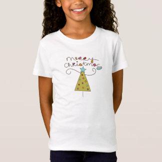 Holiday Doodle christmas tree T-shirt