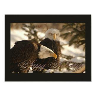 Holiday Eagles 11 Cm X 14 Cm Invitation Card