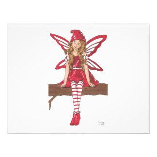 Holiday Fairy Custom Invitation