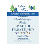 Holiday Family Reunion, Party, Event Save the Date