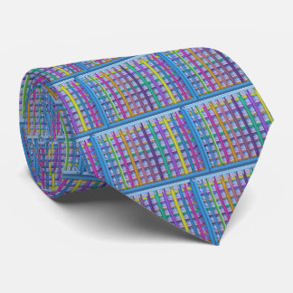Holiday Fever : Illuminated Colorful Flourscent Ro Tie