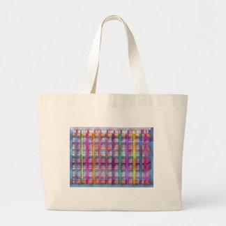 Holiday Fever : Illuminated Colourful Flourscent Jumbo Tote Bag
