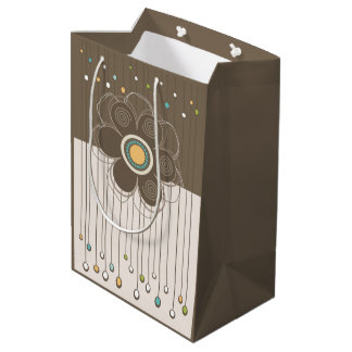 Holiday Floral Gift Bag