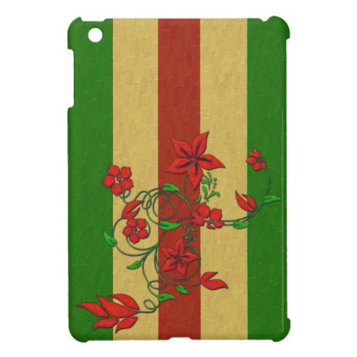 Holiday Flowers iPad Mini Case