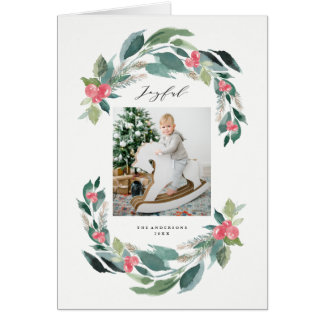 Holiday Forest Greeting Card