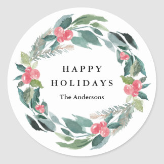 Holiday Forest Sticker
