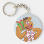 Holiday Fozzie the Bear Key Chains