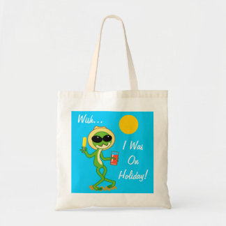 Holiday Frog Tote Bag