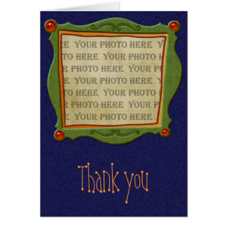 Holiday Fun Thank You Note Note Card