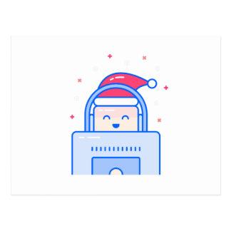 Holiday Gamer Postcard