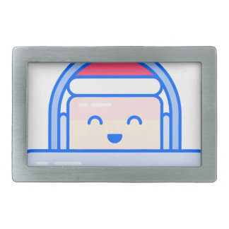 Holiday Gamer Rectangular Belt Buckle