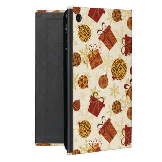 Holiday Gifts & Christmas Ornaments Cover For iPad Mini