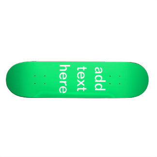 Holiday Gifts Create Your Own Skateboard Decks