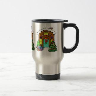 Holiday Gingerbread House Mug
