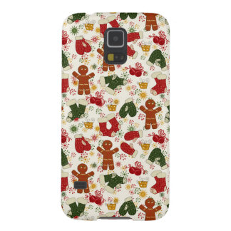 Holiday Gingerbread Pattern Case For Galaxy S5