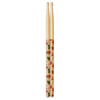 Holiday Gingerbread Pattern Drumsticks