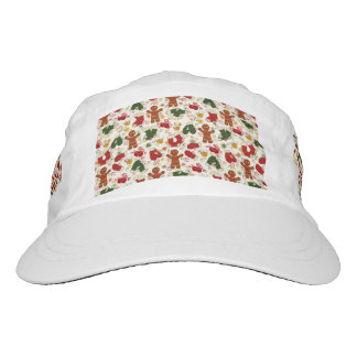Holiday Gingerbread Pattern Hat